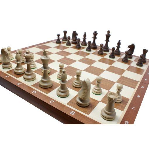 Wegiel 木製チェスセット トーナメントNo.6 52cm 14