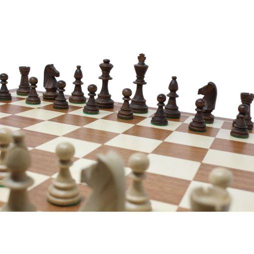 Wegiel 木製チェスセット トーナメントNo.6 52cm 7