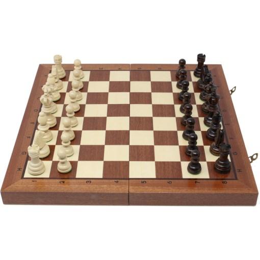 木製チェスセット オリンピアード 35cm 12