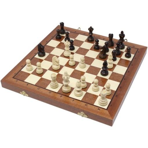 木製チェスセット オリンピアード 35cm 19