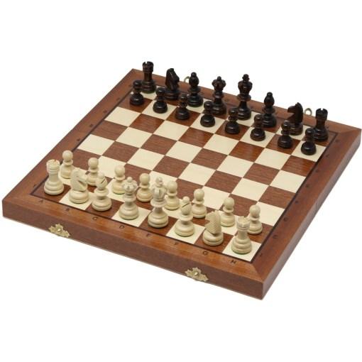 木製チェスセット オリンピアード 35cm 27