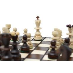 木製チェスセット パール 30cm 12