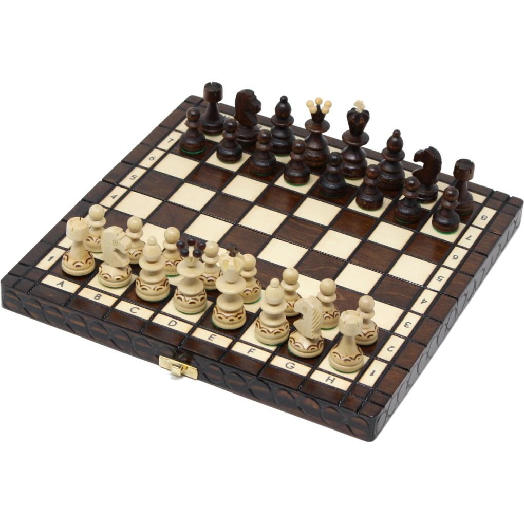 木製チェスセット パール 30cm 29