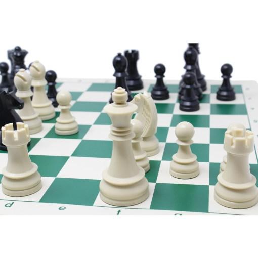 チェスジャパン チェスセット ジャーマンナイト 95mm スタンダード 43cm 15