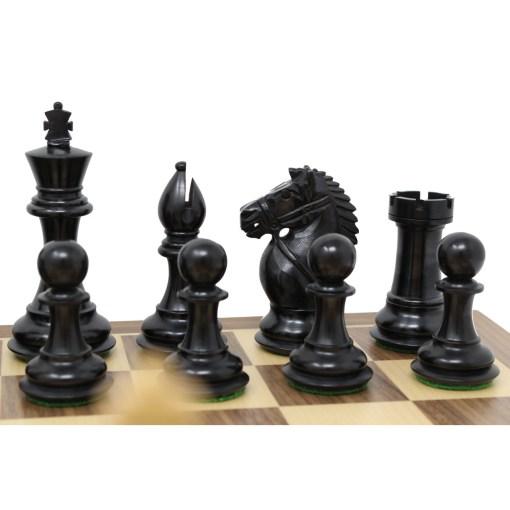 チェスジャパン チェス駒 オーソリティ エボナイズ 6