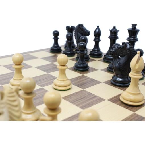 チェスジャパン チェス駒 オーソリティ エボナイズ 9