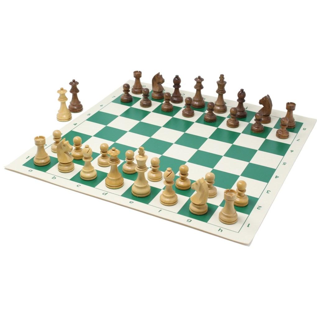 チェスジャパン チェス駒 スタンダード・スタントン 95mm 日本チェス連盟公式用具 3