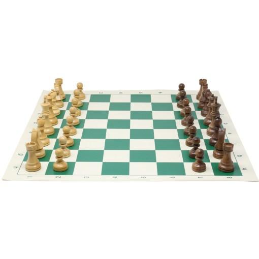 チェスジャパン チェス駒 スタンダード・スタントン 95mm 日本チェス連盟公式用具 12