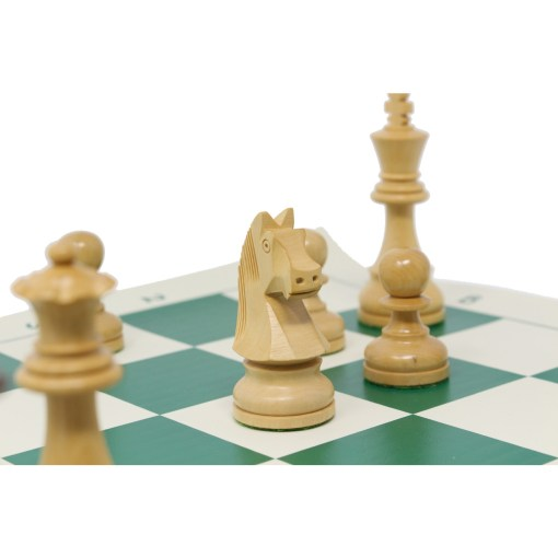 チェスジャパン チェス駒 スタンダード・スタントン 95mm 日本チェス連盟公式用具 17
