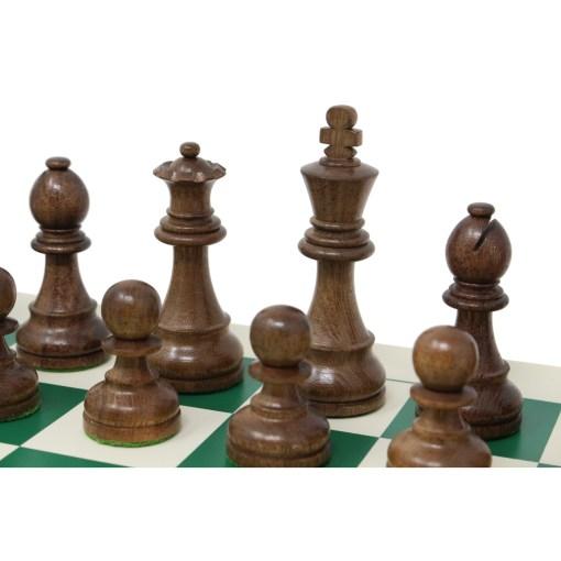チェスジャパン チェス駒 スタンダード・スタントン 95mm 日本チェス連盟公式用具 22