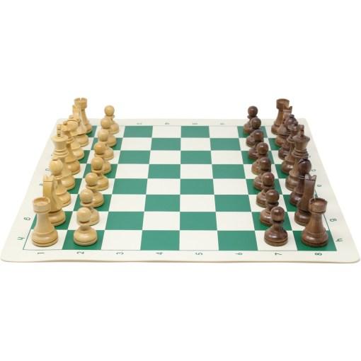 チェスジャパン チェス駒 スタンダード・スタントン 95mm 日本チェス連盟公式用具 24