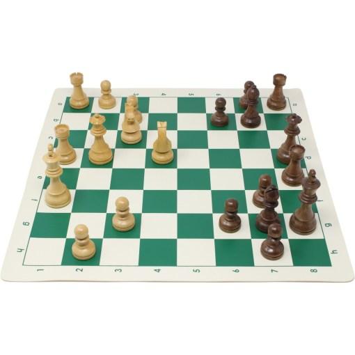 チェスジャパン チェス駒 スタンダード・スタントン 95mm 日本チェス連盟公式用具 27
