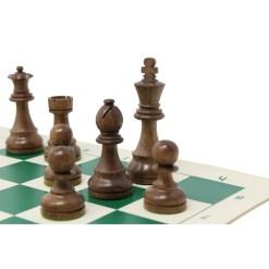 チェスジャパン チェス駒 スタンダード・スタントン 95mm 日本チェス連盟公式用具 28