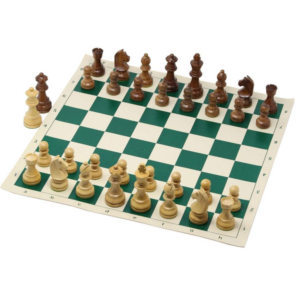 チェスジャパン チェスセット トーナメント 44cm 日本チェス連盟公式用具 1