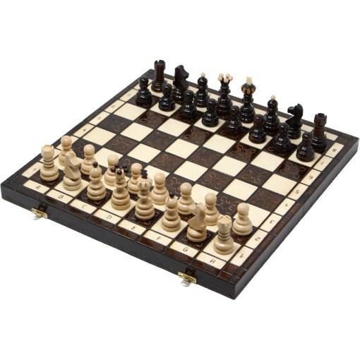 木製チェスセット クラクフ 42cm 1