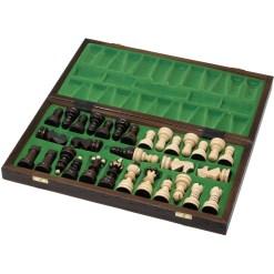 木製チェスセット クラクフ 42cm 5