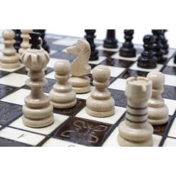 木製チェスセット クラクフ 42cm 18