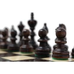 木製チェスセット オリンピアード 35cm クラシックA 10