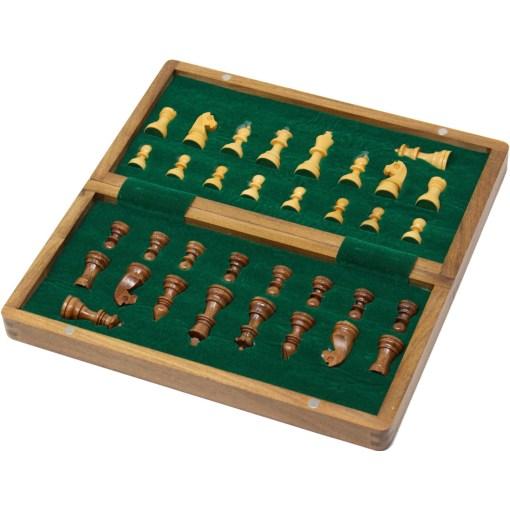 木製チェスセット オリジン 31cm 磁石式 3