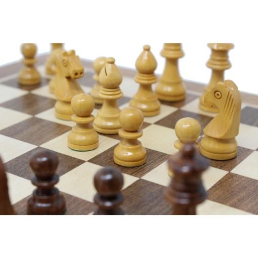 木製チェスセット オリジン 31cm 磁石式 17