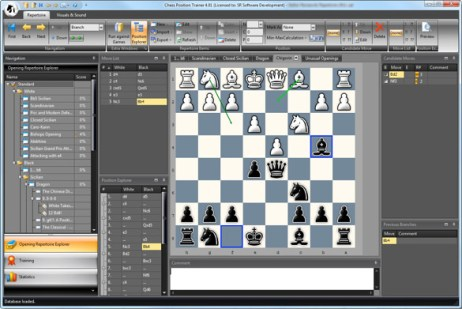 Chess Positiontrainer User Interface
