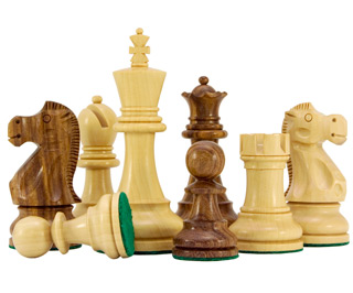 Jacob Knight Sheesham Boxwood Staunton Chess Pieces Rcp055 80 18 Chess Sets Uk The Uk S Number One Chess Set Retailer