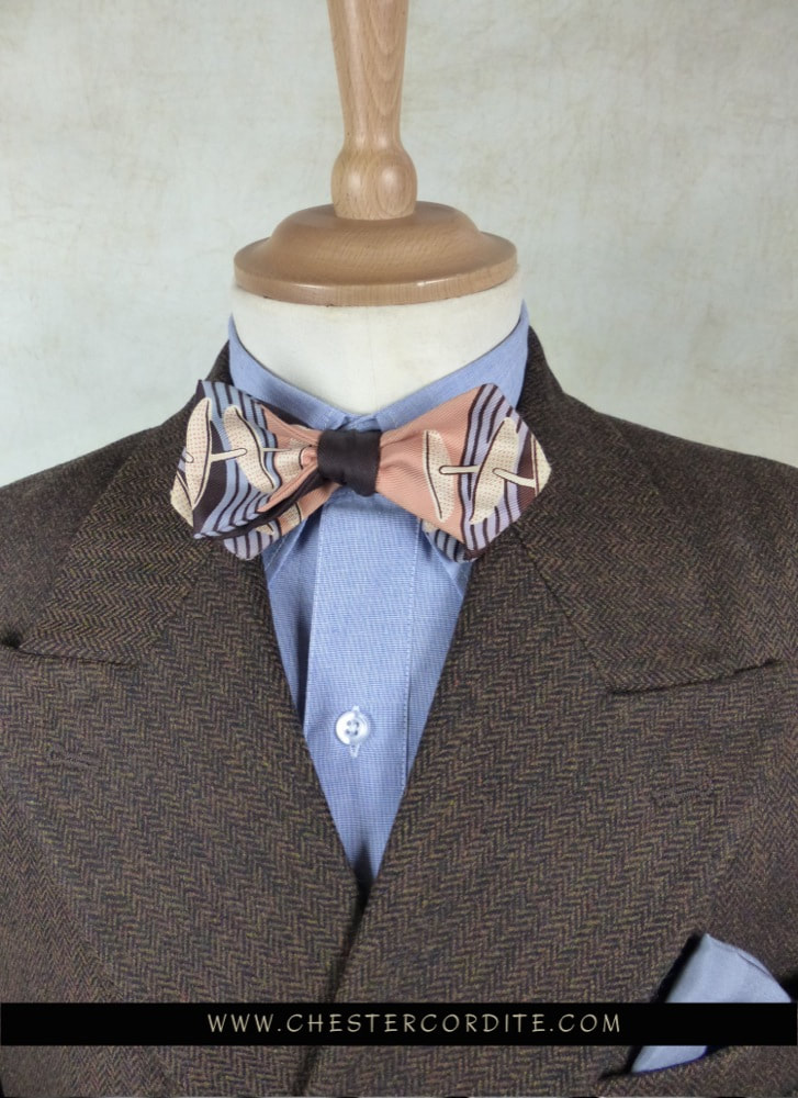 The Fil  Fil Blue Spearpoint Collar Shirt by Chester Cordite