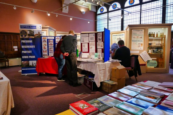 View Derbyshire Record Society Display