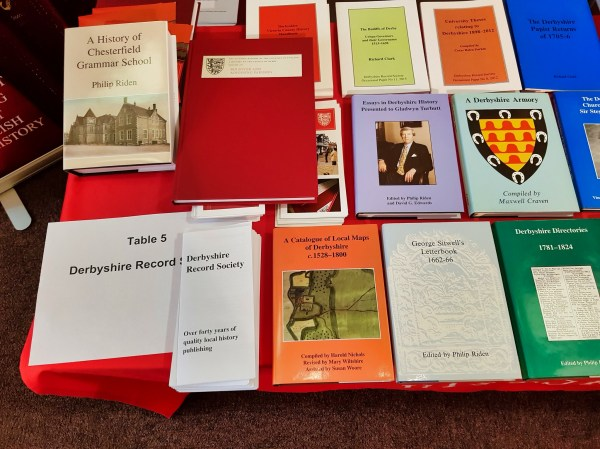 Derbyshire Record Society And Victoria County History