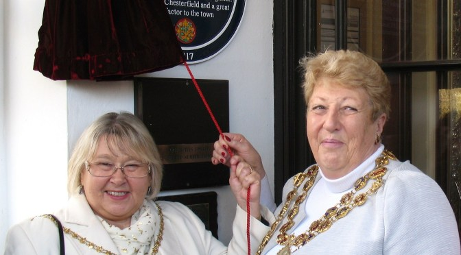 Unveiling of a new Blue Plaque at Ringwood Hall
