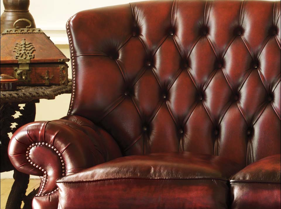 tartan chesterfield sofa electric recliners leather howland chesterfields1780 made in uk