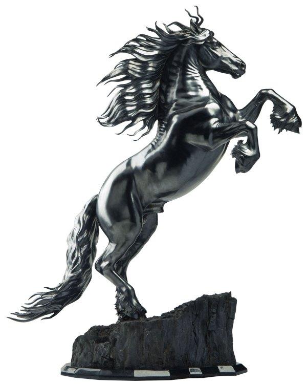 Friesian Horse Sculpture