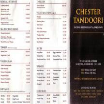 Chester Tourist - Tandoori Restaurant
