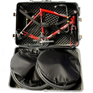 Deluxe Bike Case - packing