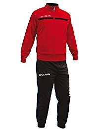 Givova One Tracksuit Red