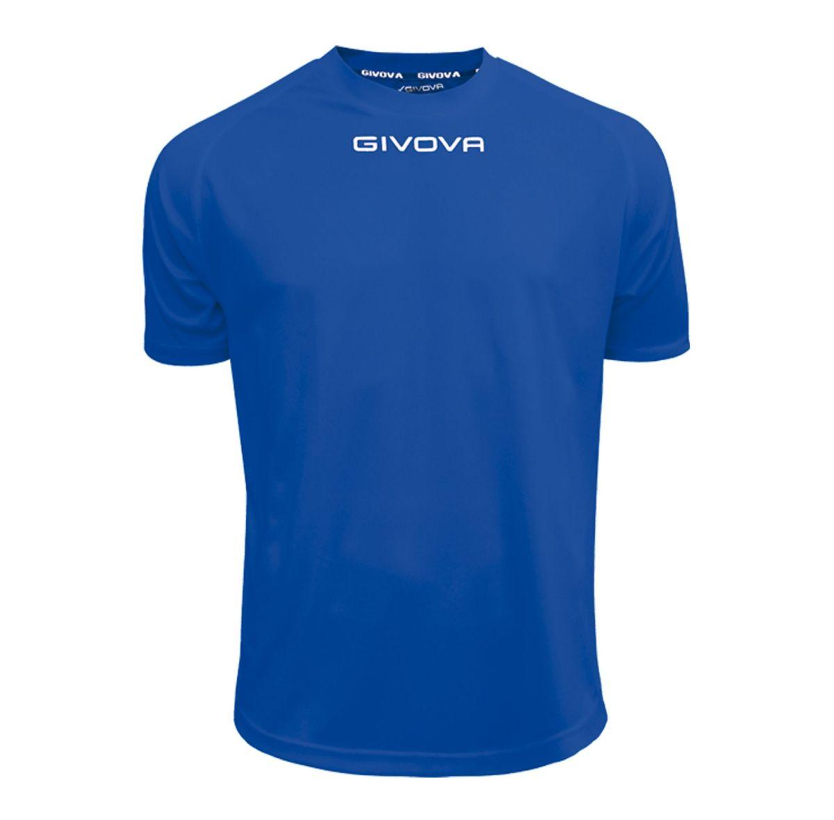 Givova Training T Shirt Royal Blue