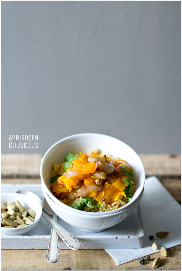 Couscous with apricots | chestnutandsage.de