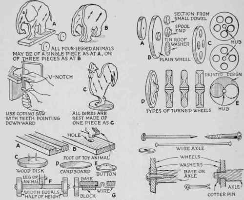 Wooden Toy Patterns Templates Plans DIY Free Download