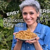 Easy Chicken or Vegetable Biryani