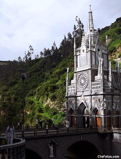 Puente Iglesia Las Lajas