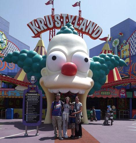 Krustyland Universal Studios - LA