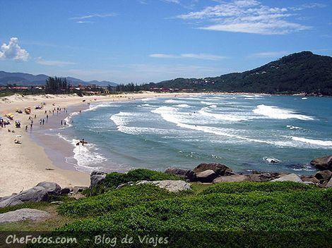 Foto panorámica Playa de Ferrugem