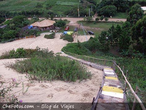 Sandboard en Garopaba - Brasil