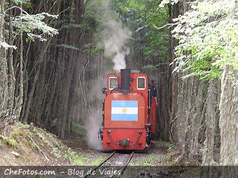 Tren a vapor por los confines del mundo