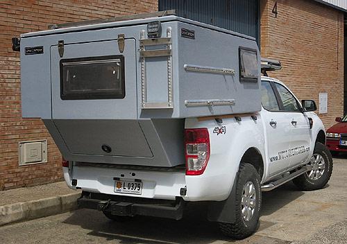 Mini Camper para pickup doble cabina