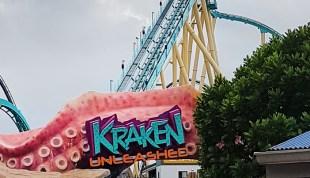 Una Montaña Rusa en Realidad Virtual - Kraken® Orlando