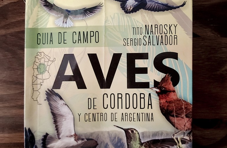 Guia de Campo Aves de Cordoba Tito Narosky y Sergio Salvador
