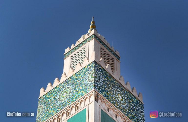 Altura Mezquita Hassan II
