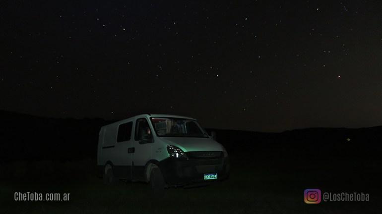 Acampar Motorhome Quebrada del Condorito