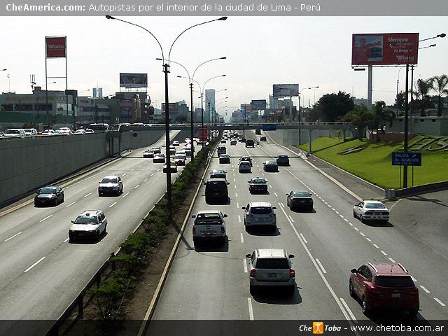 Autopistas centro de Lima